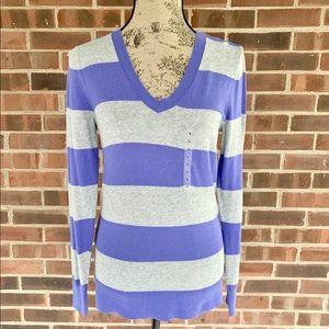 NWT Gap striped light weight sweater